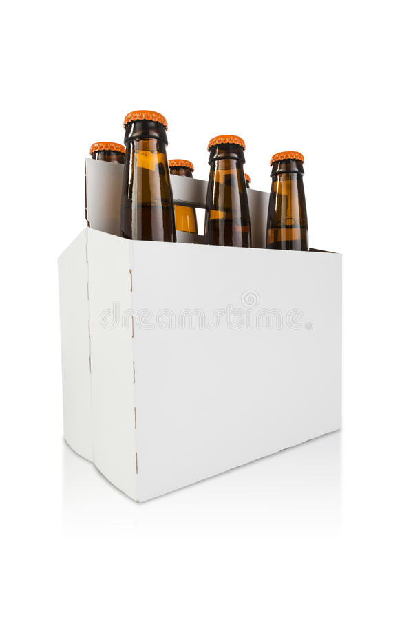 Addominali scolpiti dell'angolo dell'eroe della birra fotografie stock libere da diritti