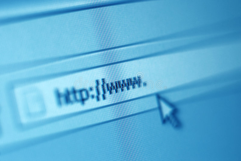 Download Address Bar On Computer Screen Stock Photo - Image of http, intranet: 8057784
