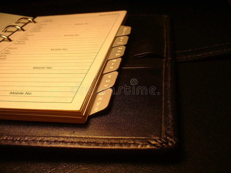 Download Address book stock photo. Image of planning, meeting, telephonic - 6822