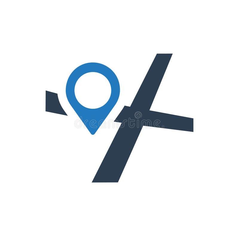 Address Navigation Icon. Beautiful, Meticulously Designed Address Navigation Icon vector illustration