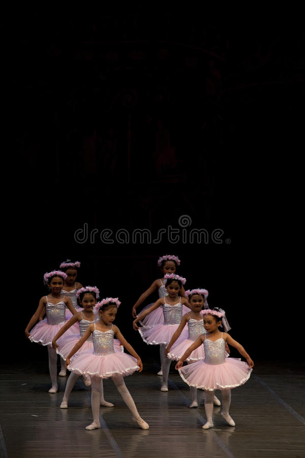 ade baletniczy występu rayanti obrazy royalty free