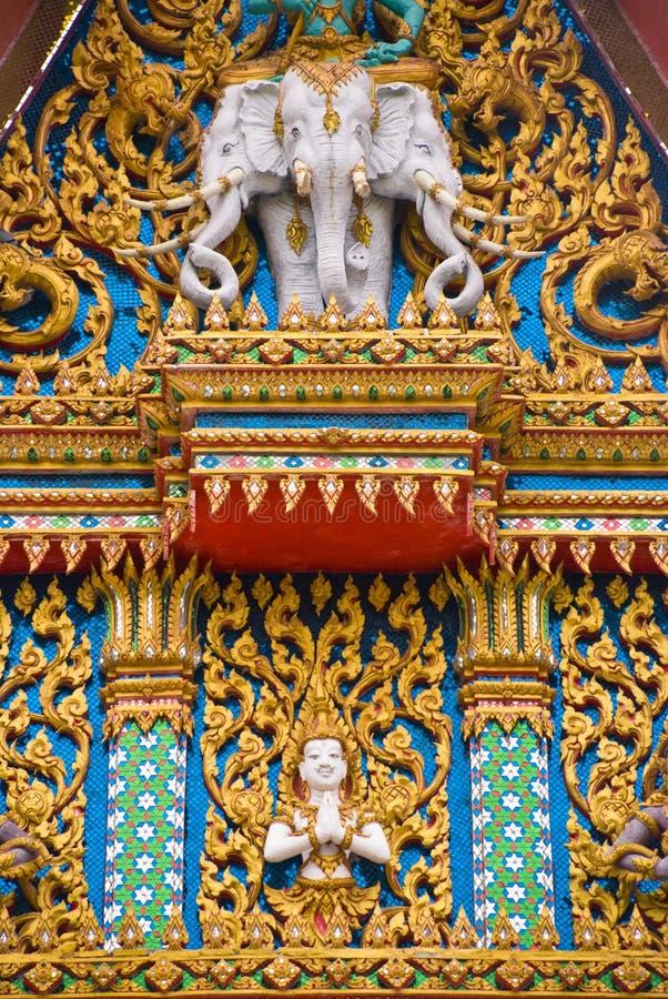 ade fa Hua hin dłoni świątynia Thailand zdjęcia royalty free