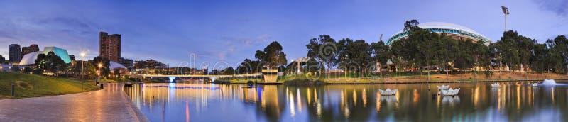 ADE River-het panorama van de zonsopganghorizon royalty-vrije stock foto's