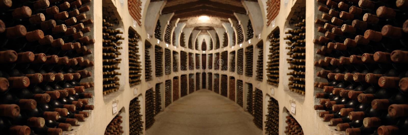 Adega de vinho velha