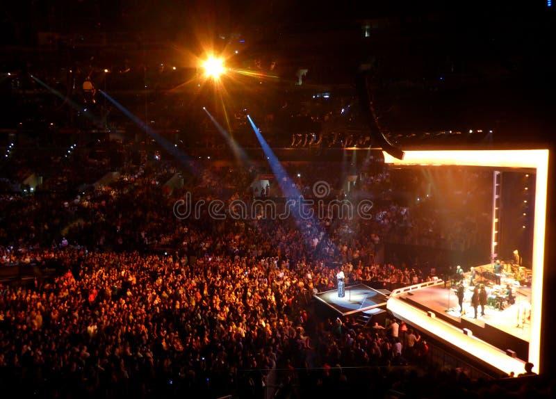 Adela en concierto en Los Ángeles foto de archivo