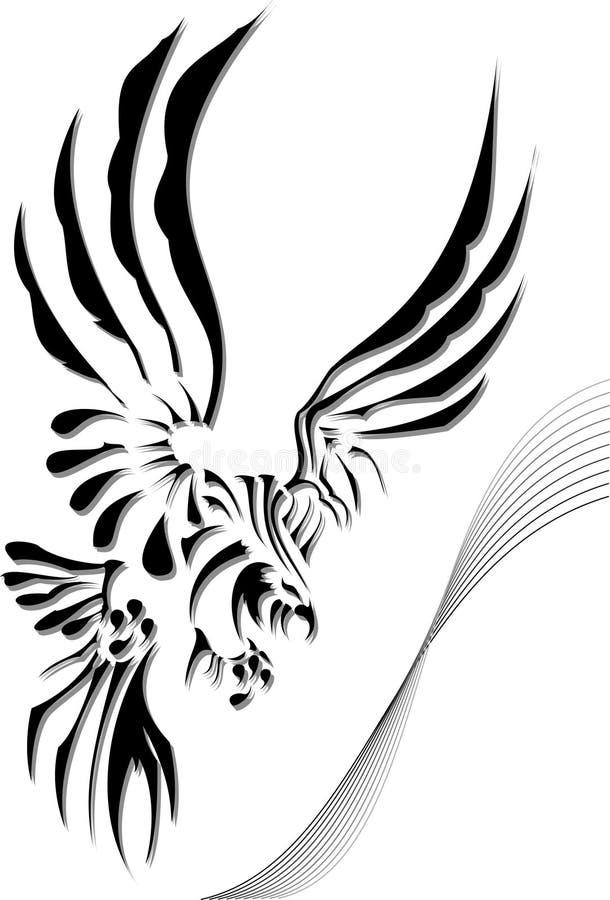Adelaar vector illustratie
