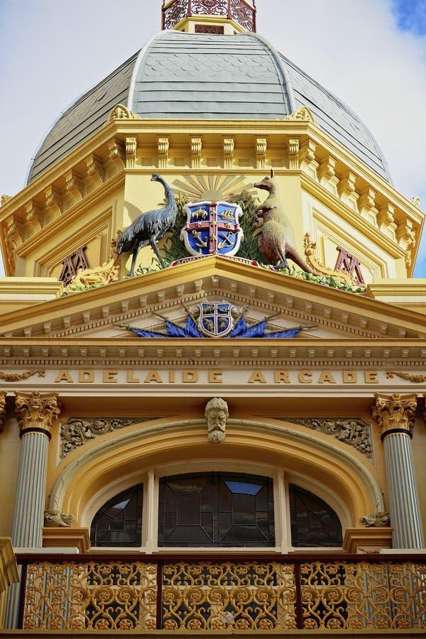 Adelaide arkady dachu szczegół obrazy royalty free