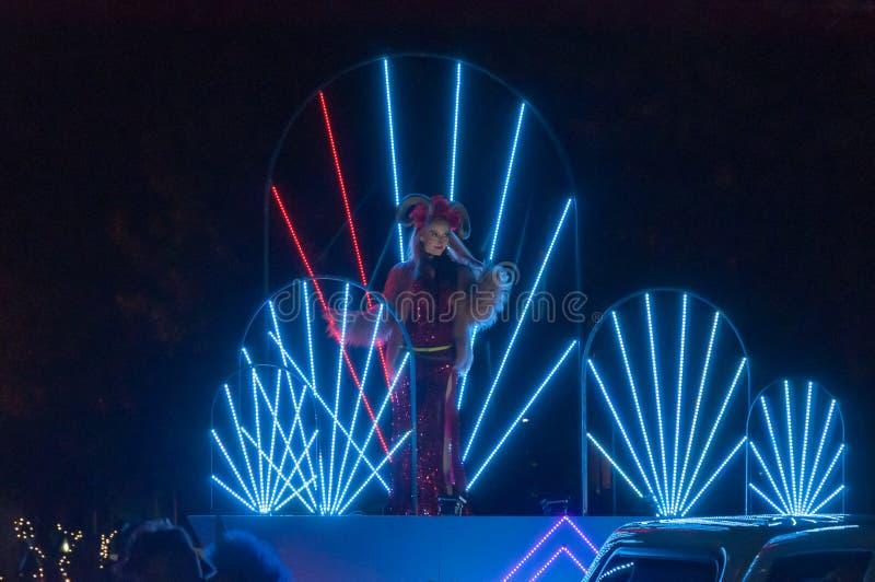 Stage - Adelaide Fringe 2017 stock images