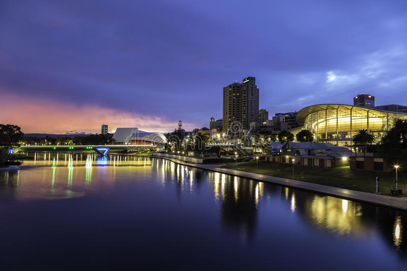 Adelaide Australia stock afbeelding