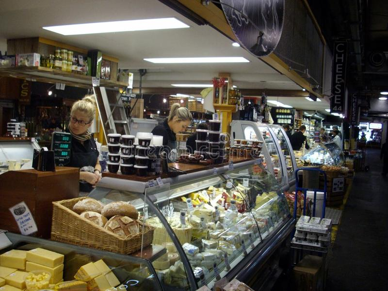 Adelaide Central Market royalty-vrije stock afbeelding
