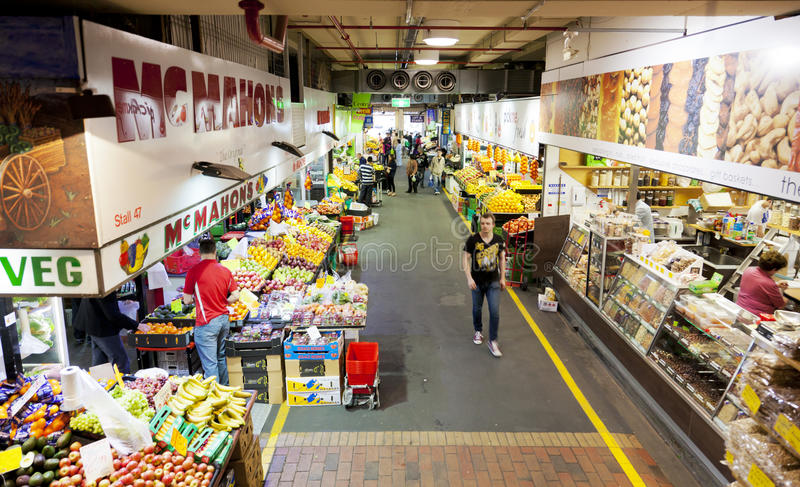 Adelaide Central Market royalty free stock image