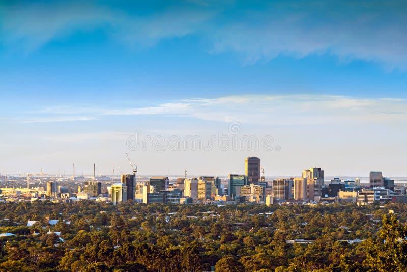 Adelaide City, Austrália fotos de stock royalty free