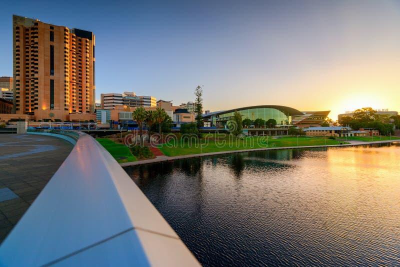 Adelaide City, Australia foto de archivo libre de regalías