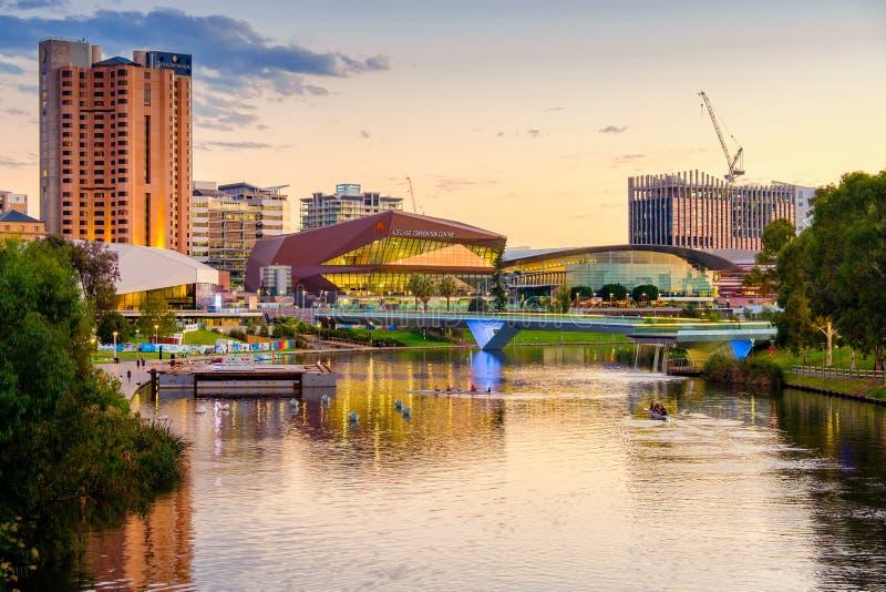 Adelaide city Australia royalty free stock photo