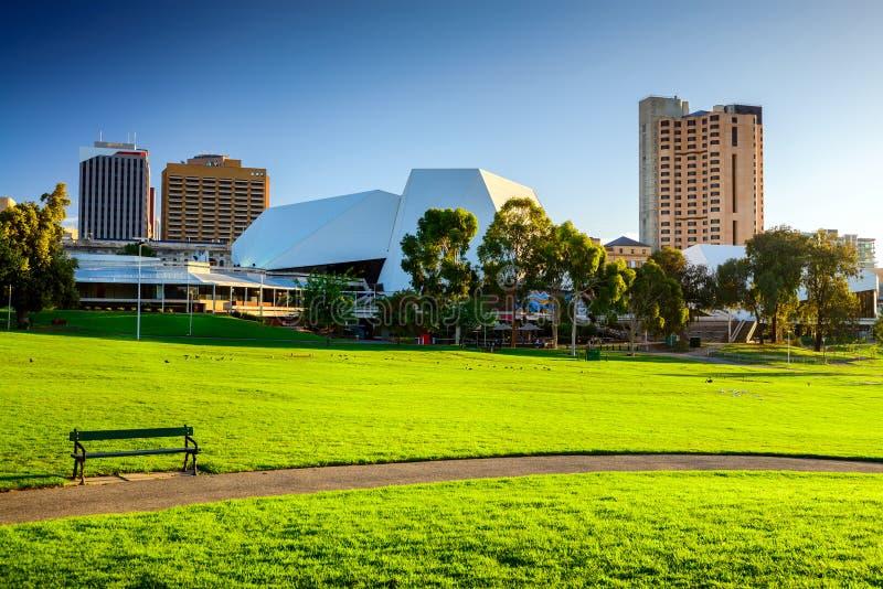 Adelaide City, sur de Australia imagenes de archivo