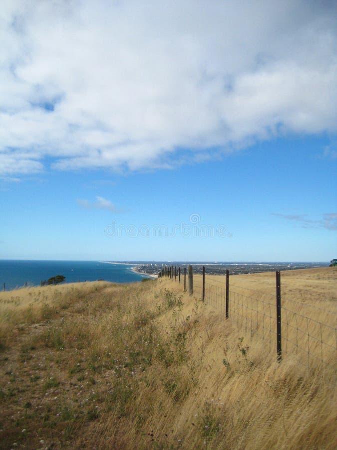 Adelaide coastal stock image