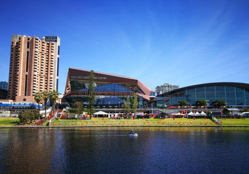 Adelaide Convention Center Es Un Centro De Convenio Grande