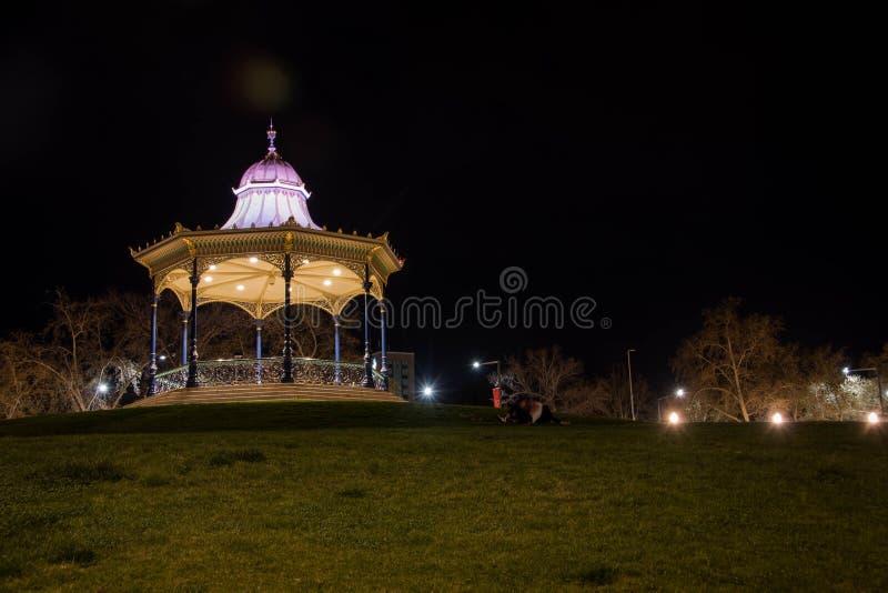 Adelaide - Elder Park - Evening. stock photography