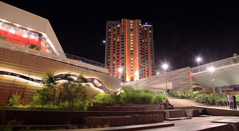 Adelaide Intercontinental Hotel stock photography