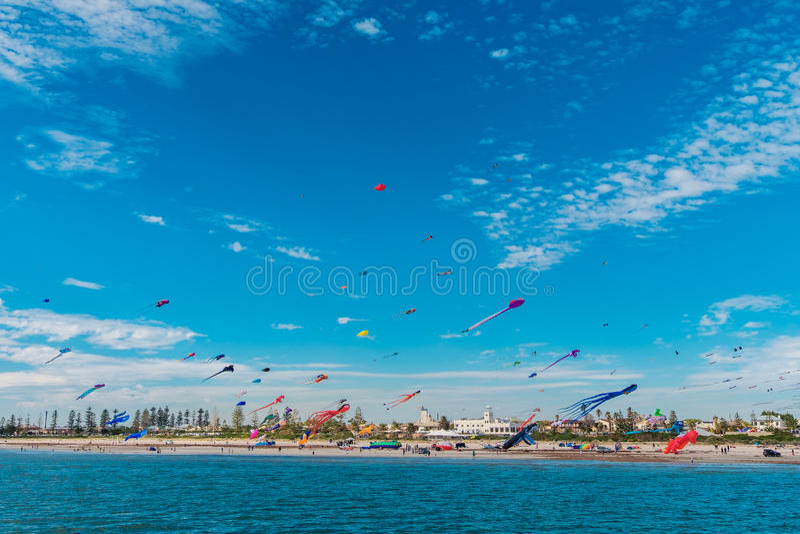 Adelaide International Kite Festival imagens de stock
