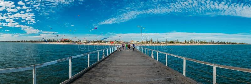 Adelaide International Kite Festival imagem de stock