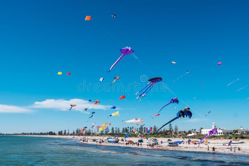Adelaide International Kite Festival, SA fotos de stock royalty free