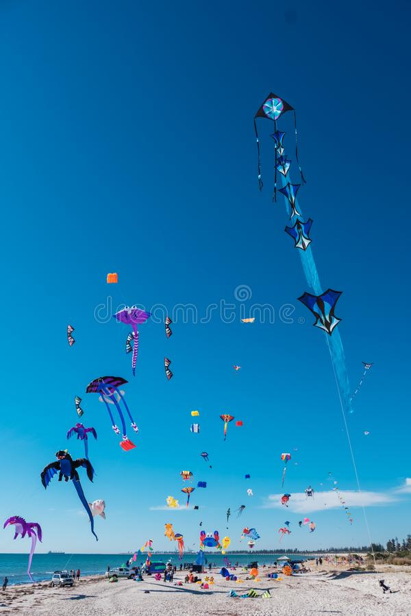 Adelaide International Kite Festival, SA foto de stock