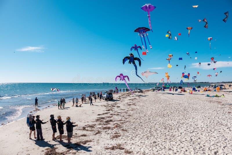 Adelaide International Kite Festival, SA fotos de stock