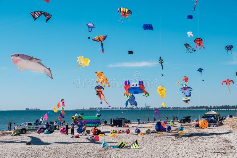 Adelaide International Kite Festival, SA imagens de stock royalty free