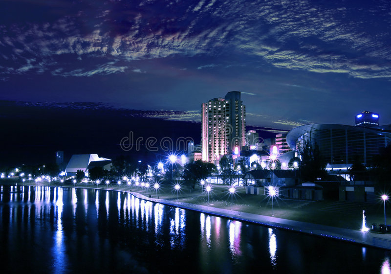 Download Adelaide majestoso foto de stock. Imagem de dusk, céu, adelaide - 200398
