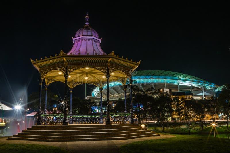Adelaide Night 9 photos libres de droits