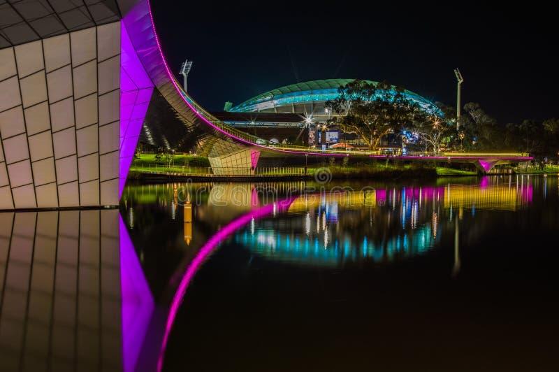 Adelaide Night 16 image stock