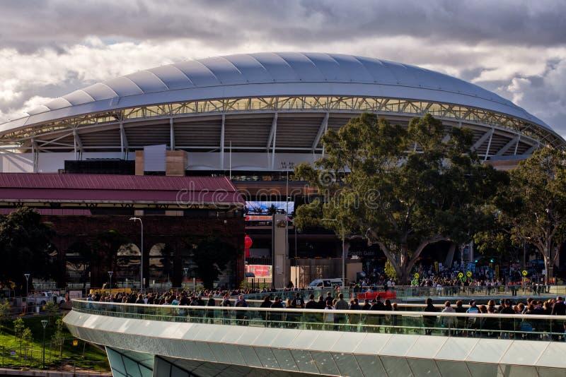 Adelaide Oval lizenzfreie stockfotos