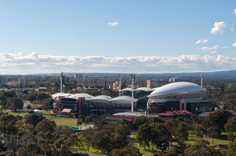 Adelaide Oval photo stock