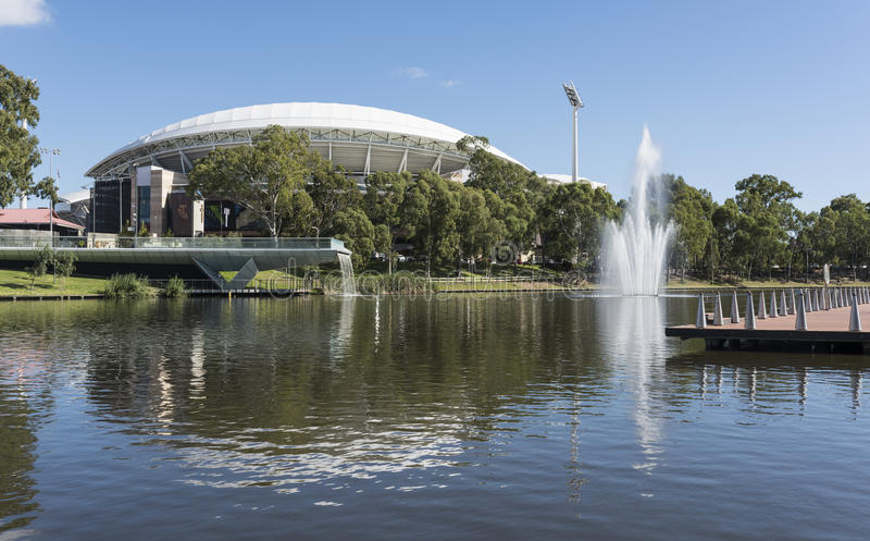 Adelaide Owalny stadium, Południowy Australia zdjęcia royalty free