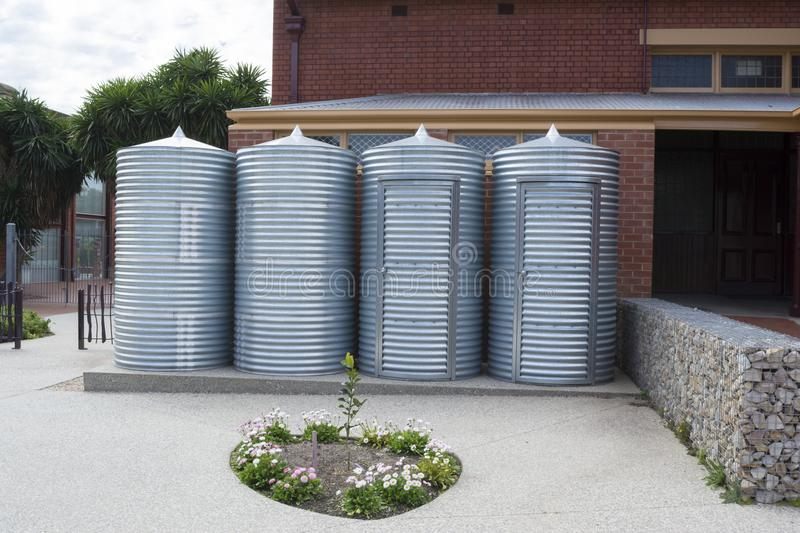 Download Rainwater Tanks And Storage Sheds Goodman Building Adelaide Bo Editorial Photography - Image & Rainwater Tanks And Storage Sheds Goodman Building Adelaide Bo ...