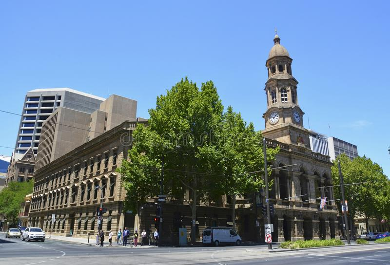 Adelaide Town Hall photo stock