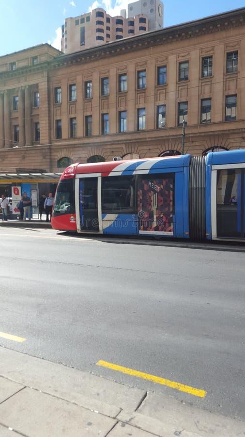 Adelaide Tram fotos de archivo libres de regalías