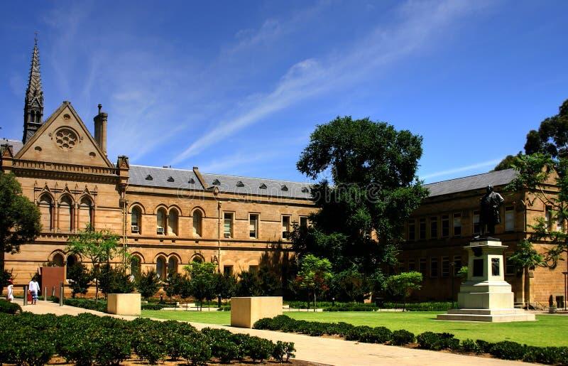 Adelaide - University of Adelaide royalty free stock photo