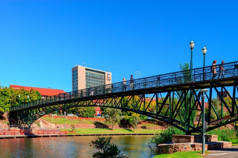 Adelaide University Bridge imagens de stock