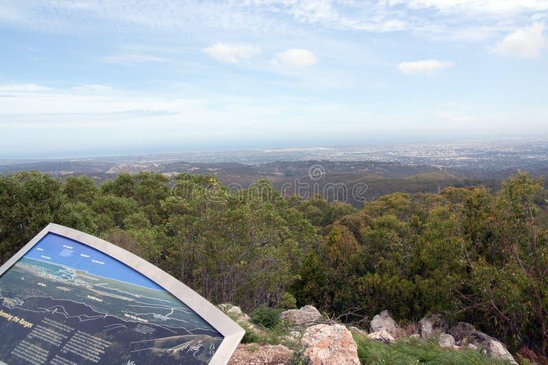 Adelaide, Zuid-Australië van Torenhoog Onderstel royalty-vrije stock afbeeldingen