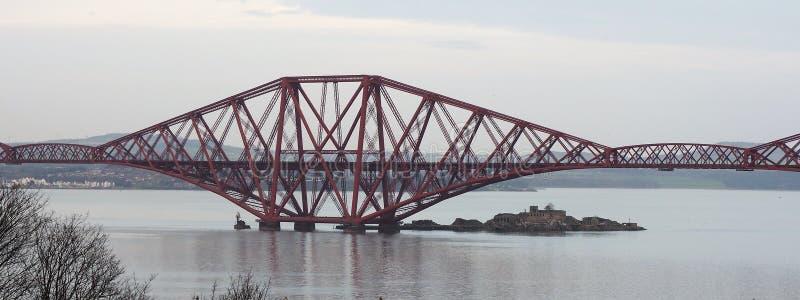 Adelante el puente Escocia del carril fotos de archivo libres de regalías