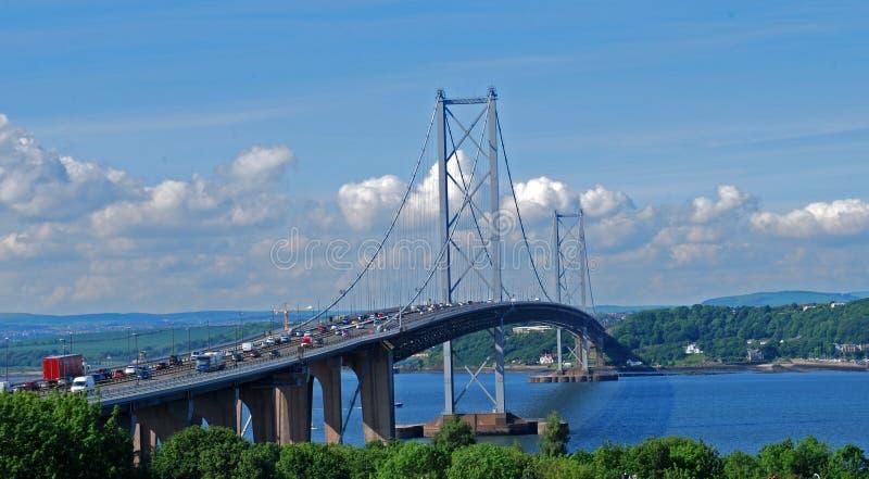 Adelante puente del camino foto de archivo libre de regalías