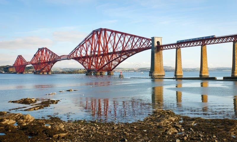 Adelante puente en Escocia fotos de archivo libres de regalías