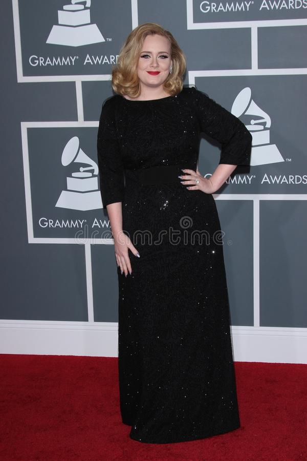 Download Adele editorial stock image. Image of awards, center - 23475034