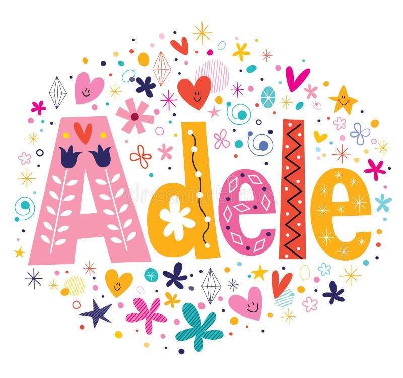 Детскую открытку с днем рождения с именем аделина деля