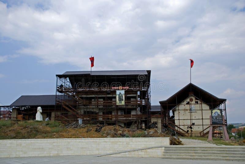 Adem Jashari dom, Prekaz, Kosowo fotografia stock