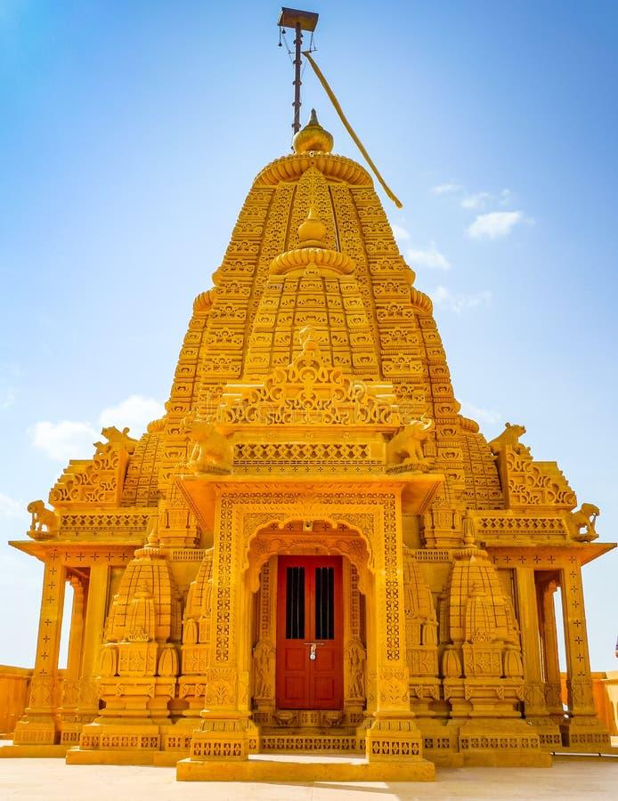 Adeshwar Nath Jain tempelkupol royaltyfri fotografi