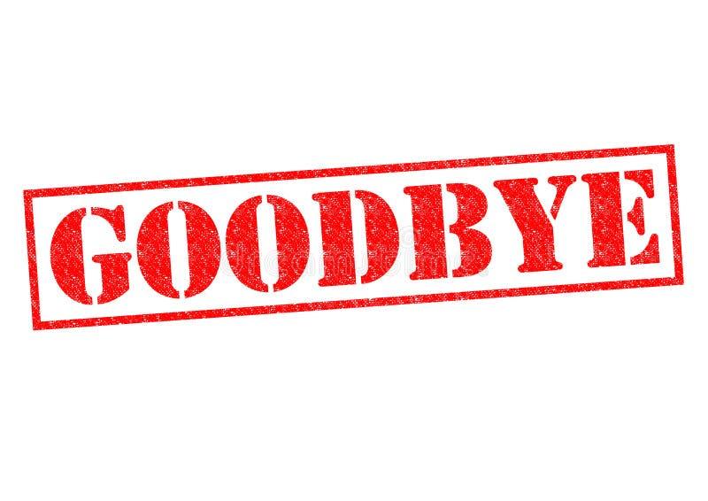 adeus ilustração royalty free