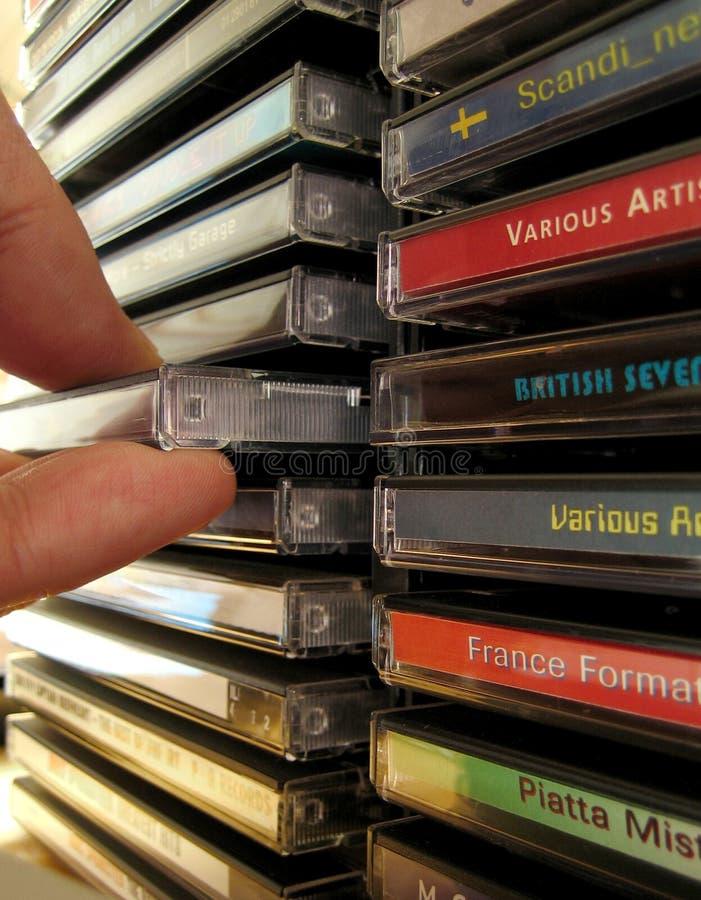 Adhérence CD photos stock